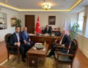 Güneşin Derneklerinden Enerji Bakanı Dönmez'e Ziyaret